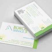 Visitenkarte Büroservice