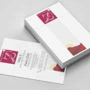Visitenkarte Weinhändler