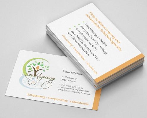Visitenkarte Energetische Heilung