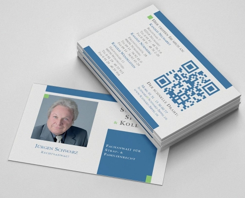 Visitenkarte Rechtsanwalt