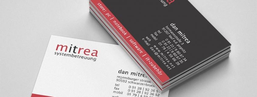 Visitenkarte It Systemhaus Franken Medien Werbeagentur