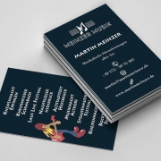 Visitenkarte Konzertveranstalter