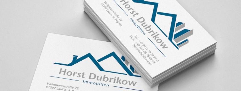 Visitenkarte Immobilien Franken Medien Werbeagentur