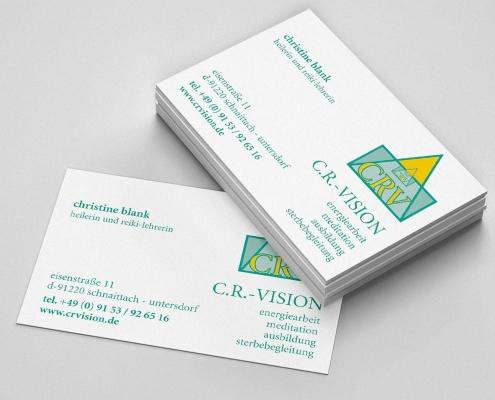 Visitenkarte C.R.Vision